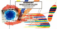 JAMES ROSENQUIST Drawings at Castelli 1975, Offset Lithograph Poster. Signed.