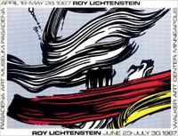 ROY LICHTENSTEIN Roy Lichtenstein (Walker Art Museum and Pasadena Art Museum) 1967, Offset Lithograph Poster