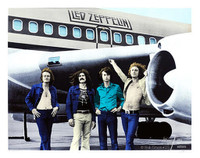 BOB GRUEN Led Zeppelin - NYC - 1973 2014, Silkscreen in Nine Colors on 2-ply Museum Board.