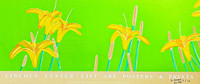 ALEX KATZ Day Lilies (Signed) 1992-2016, Offset Lithograph Poster (Hand Signed and Dated)