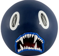 KAWS Cat Teeth Bank (Navy Blue) 2007, Painted cast vinyl. Limited edition of only 400.