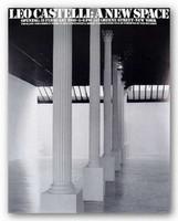 Leo Castelli 1980 Offset Lithograph Invite Roy Lichtenstein Robert Rauschenberg