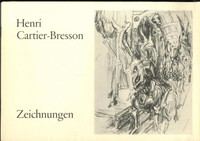 Henri CARTIER-BRESSON Zeichnungen (Drawings) Catalogue 1975 Bischofberger  $700+