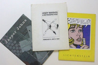Andy Warhol, Roy Lichtenstein & Jasper Johns Rare Press Kits from the 1980s/90's