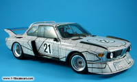 FRANK STELLA, Art Car: Limited Edition BMW Minichamps of Frank Stella's 1976 Le Mans The Graph Car, Scale 1:18, 3.0 CSL No.21, 2004