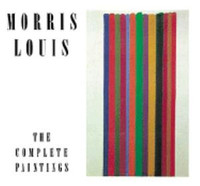 MORRIS LOUIS: THE COMPLETE PAINTINGS CATALOGUE RAISONNE  HCDJ 1st Ed. Tipped-in Plates