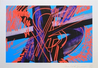 Mark di Suvero Figalu, Lithograph, Rare Signed/N Abstract Expressionist Print, Edition of only 18