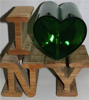 I Love a Green New York: Decorative Sculptural Centerpiece; Environmental Art