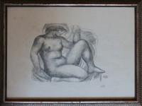 ARISTIDE de MAILLOL Junon Lithograph HAND Signed from Artist's Stone TP 1925 COA
