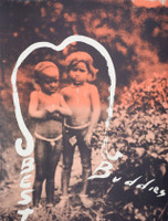 Julian Schnabel, Best Buddies, 1992, Large Screenprint, Signedm, Lt. Ed.