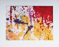 TARO YAMAMOTO Painting, Rare Abstract Expressionist Work 1972