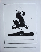 Robert Motherwell Lithograph Beside the Sea, 1966