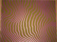 1960s Op Art Pop Artist HENRY PEARSON Lithograph