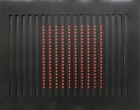 John Goodyear, 1960s Op Art 3-D Vinyl Silkscreen, Signed, Numbered