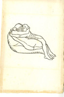 ARISTIDE MAILLOL Original 1937 Woodcut Lt Ed 242/250 from Daphnis and Chloe 1937