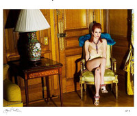 MARIO TESTINO Julianne Moore for Paris Vogue Lt Ed. Signed/N Photograph C Print