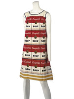 ANDY WARHOL Souper Dress ca. 1965 Acquired from Campbell's Soup company employee
