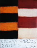 Sean Scully Offset Lithograph, hand signed