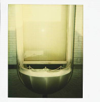 ANDY WARHOL, Polaroid, Homage to Marcel Duchamp, Authenticated with Warhol Estate Stamp