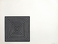 "Frank Stella, Angriff (""Attack"") from Conspiracy: The Artist as Witness, 1971"