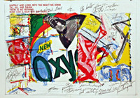 JAMES ROSENQUIST, OXY (from 1 Cent Life Portfolio), 1964