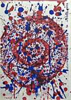 SAM FRANCIS, Untitled (from 1 Cent Life Portfolio), 1964