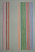 GENE DAVIS, Washington Color School/Color Field Silkscreen, 1980
