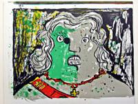 ENRICO BAJ, UNTITLED (from 1 Cent Life Portfolio), 1964