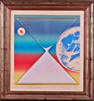 JAMES ROSENQUIST, Earth & Moon (from Cold Light Series), 1971