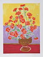 JOHN GRILLO, FLOWERS, 1979