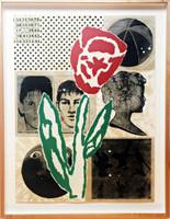 Donald Baechler, Flower (from Fuer die Pinakothek der Moderne portfolio), 1994
