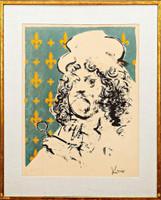 Jack Levine, THE ART LOVER, 1967