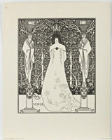 Aubrey Beardsley, VENUS (Frontispiece For 'Venus And Tannhauser'), 1895