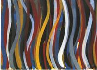 Sol LeWitt, BRUSHSTROKES HORIZONTAL & VERTICAL (1 Plate), 1996