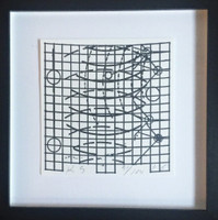 Keith Sonnier, Untitled from Sculpture Center Portfolio , 1995