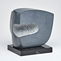 Anthony Padovano, Untitled Stone Sculpture with base, 1981