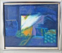 Milton Glaser, Untitled Landscape, 1965