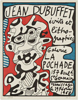 Jean Dubuffet, ECRITS ET LITHOGRAPHIES  (SIGNED), 1968