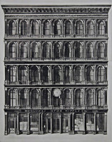 Richard Haas, THE HAUGHWOUT BUILDING (Ex Collection Nevada Museum of Art), 1971