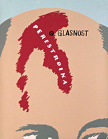 Ivan Chermayeff, PERESTROIKA/GLASNOST AKA GORBY'S HEAD (SIGNED), 1991