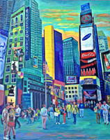 Thelma Appel, TIMES SQUARE X, 2016