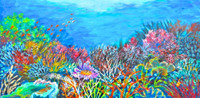Thelma Appel, SEA GARDEN IV, 2014