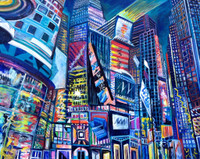 Thelma Appel, TIMES SQUARE IV, 2015