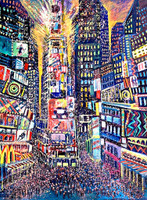 Thelma Appel, TIMES SQUARE II, 2014