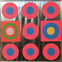 Peter Gee, Untitled 1960s Pop Art - Geometric Abstraction, 1967