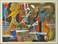 Juanita Guccione, Untitled Painting, ca. 1940