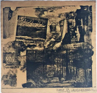 Robert Rauschenberg, PLANK (from Dante's Inferno), 1964