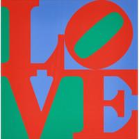 Robert Indiana, Philadelphia Love - The Original 1970s Edition (Sheehan, 83), 1975