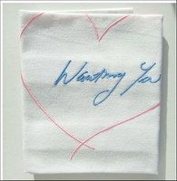 Tracey Emin, WANTING YOU, 2015 (Hand signed and inscribed tag)
