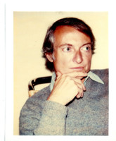 Andy Warhol, ROY LICHTENSTEIN (Authenticated and Stamped by the Andy Warhol Estate, Warhol Foundation for the Visual Arts), ca. 1975
